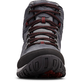 Columbia Peakfreak Venture S II WP Mid Shoes Men graphite/red jasper